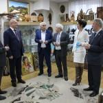 Визит Серика Сейдуманова в Дом Дружбы